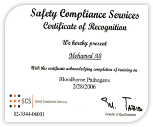 Safety Compliance Services